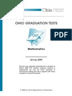 Math 09 Ogt Test