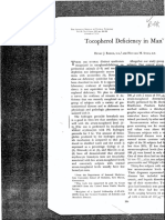 Binder Tocopheral Deficiency in Man 313v 1967