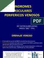 SINDROMES VASCULARES PERIFERICOS  VENOSO VFE 18 II.ppt