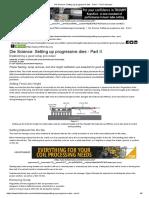 Die Science_ Setting Up Progressive Dies - Part II - The Fabricator