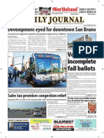 San Mateo Daily Journal 10-23-18 Edition