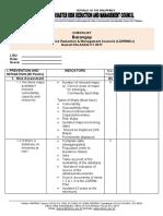 Barangay DRRMC Checklist 2017