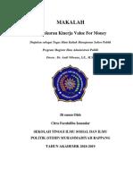 Tugas Final Manajemen Sektor Publik - Citra Farahdiba Isnandar