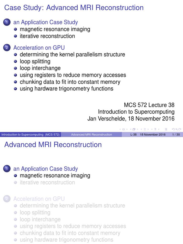 Case Advanced Mri | Magnetic Resonance Imaging | Medical Imaging