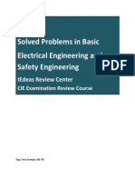 Solved Problems in Electrical & Safety Engineering 2014