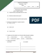 Matemática 5º