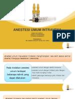 anestesi iv