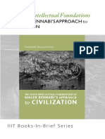 Books-In-brief the Socio-Intellectual Foundations of Malik Bennabis Approch to Civilization