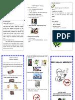 Leaflet Bahaya Merokok