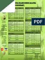 IISM School Fees