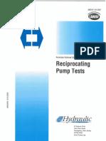ANSI_HI 6.6-2000 Reciprocating Pumps Tests