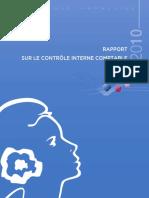 Rapport Controle Interne 2010