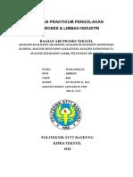 Laporan Praktikum Air Proses Dan Limbah Industri