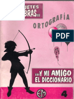 Mis Juguetes y Mi Amigo El Diccionario Nº 4