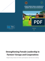 Strengthening Female Leadership in Farmers Groups Cooperatives