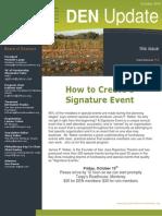 Development Executives Network - October 2010 Newsletter