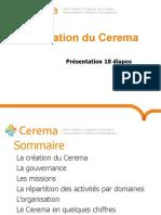Présentation Du Cerema