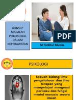 Konsep Masalah Psikososial Dalam Keperawatan