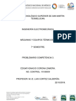 Problemario Com3 Maquinas Termicas II Edgar Corona