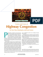 Causes and Cures of Highway Congestion