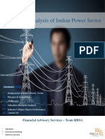 RBSA Indian Power Industry Analysis