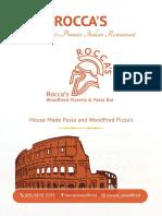 ROCCAS Italian Restaurant Blackburn   Pizza and Pasta Delivery, Fine Dining in Blackburn