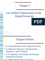 The Modern Organization in the Digital Economy