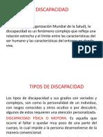 DISCAPACIDAD-TIPOS