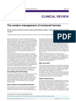 The Modern Management of Incisional Hernias