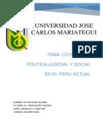 coyuntura DEL PERU ACTUAL