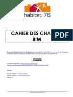 Le Cahier Des Charges BIM DHabitat 76
