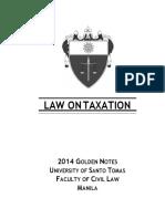 Kupdf.net Tax Ust Golden Notes 2014pdf Converted