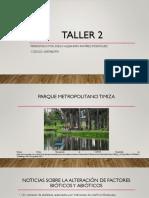 Investigación Parque Metropolitano Timiza