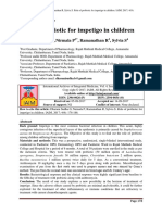 Jurnal Impetigo