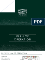 Prery Plan Of Operation Draft