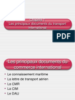 Chapitre 1 Les Principaux Documents Du Commerce International