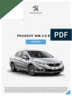 Revisoes Peugeot 408 20BVM