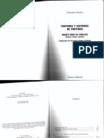 Sartori - Partidos y Sistema de Partidos