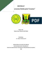 Referat Kegawatdaruratan Bedah Pd Neonatus Ai