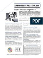 Conexiones de PVC C80 Spears (Publicidad)