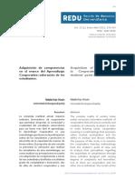 Dejo, N. (2015)_Adquisición de Competencias en El Marco Del Aprendizaje Cooperativo_ Valoración de Los Estudiantes