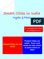 Presentation on Smart Cities and Future Cities - Indian Perspective