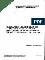 GLOSARIO INGLÉS ESAÑOL DE TERMINOS TECNICOS EMPLEADOS EN LA INGENIERIA DE EXPLOTACION DEL PETROLEO.pdf