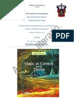 Analisis Literario de El Libro El Viaje Al Centro de La Tierra