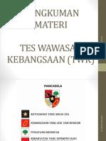 [PPT] BAHAN MATERI TES WAWASAN KEBANGSAAN (TWK) - REVISI II.pptx