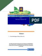 Materi Hidrologi -  Neraca Massa Air