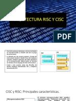 Arquitectura Risc y Cisc