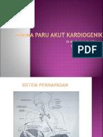 Edema Paru Kardiogenik slide