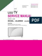 LG+42LB5500+Chassis+LA49B