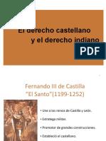 03 El Derecho Castellano y El Derecho Indiano